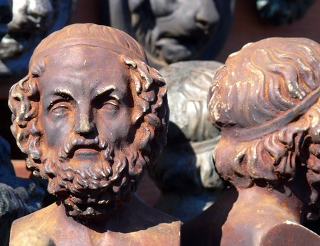 Greek Bust Imagens