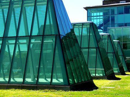 Glass Buildings Imagens