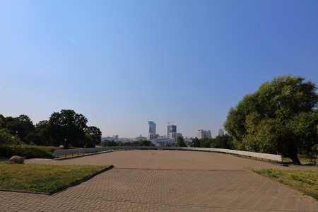minsk: General view of the Belarusian capital of Minsk this summer