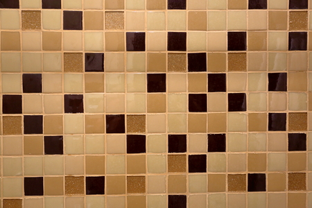 wall design: The idea of the wall design and bathroom floor tiles