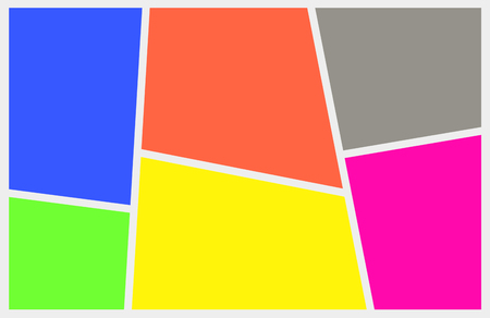 saturation: Saturated abstract image of different bright colors in a frame