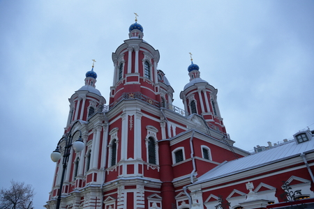 martyr: MOSCOW, RUSSIA - FEBRUARY 14, 2016: The Temple of the Holy Martyr Clement Pope