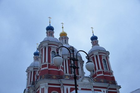 clement: MOSCOW, RUSSIA - FEBRUARY 14, 2016: The Temple of the Holy Martyr Clement Pope