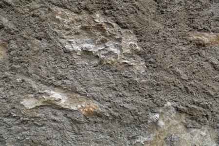 superficie con textura original de la pared de piedra natural sobresaliente