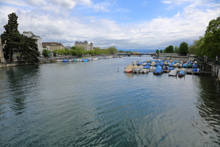 largest: The charming architecture of the largest Swiss city of Zurich