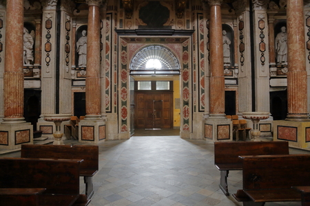 lorenzo: The Royal Church of San Lorenzo interior Editorial