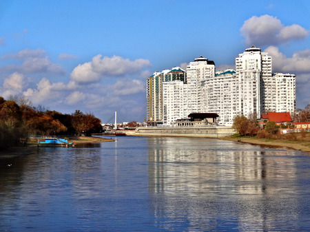 The beautiful city of Krasnodar - a city in southern Russia