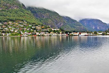 Norwegian nature late fall away from major cities Stock Photo