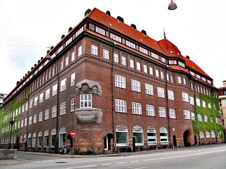 Exquisite architecture of the beautiful Danish capital city of Copenhagen