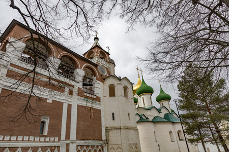 17th: SUZDAL, RUSSIA - APRIL 28, 2017: Spaso-Evfimiev Monastery. Architectural and Museum Complex Editorial