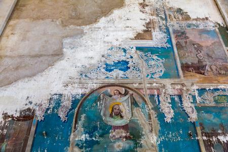 monasteri: UGLICH, RUSSIA - 17 GIUGNO 2017: Interno della Cattedrale di Epifania. Monumento architettonico è stato fondato nel 1843
