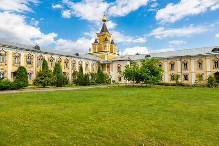 DZERZHINSKY, RUSSIA - AUGUST 5, 2017: Exterior of the Nikolo-Ugreshsky Monastery. Founded in 1380