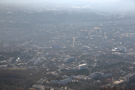 Picturesque landscape of Pyatigorsk. Resort city in the Stavropol region of the Russian Federation