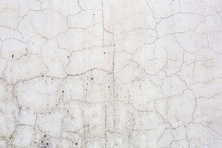 Textured surface of old stone weathered wall in the backyard