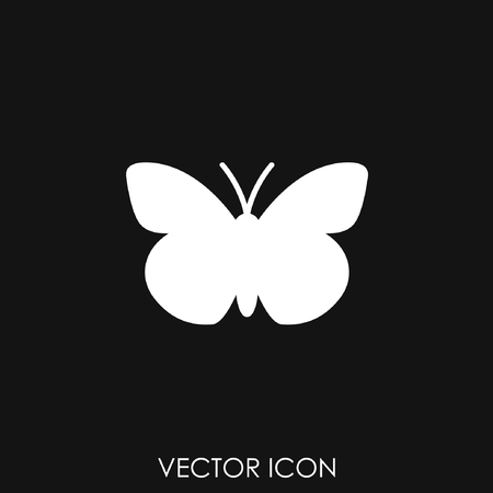 Butterfly Icon vector Çizim