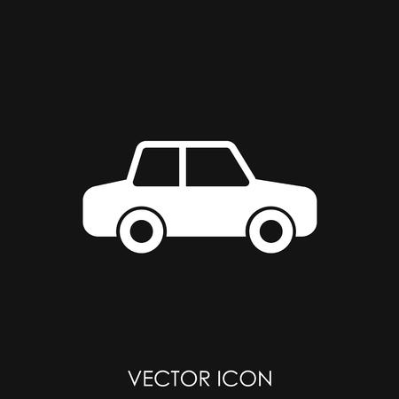 Simple Car Icon Vector