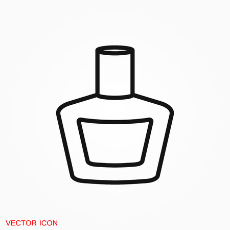 Perfume icon vector sign symbol