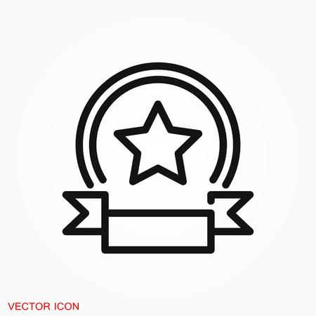 prize icon vector sign symbol Иллюстрация