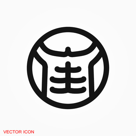 Weight loss icon vector sign symbol 向量圖像
