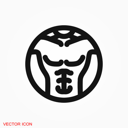 Weight loss icon vector sign symbol Illustration
