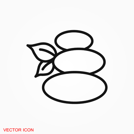 Relax icon vector sign symbol  イラスト・ベクター素材