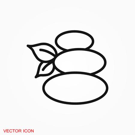 Relax icon vector sign symbol Illustration