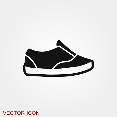 Sneakers icon vector sign symbol Stockfoto - 123963620