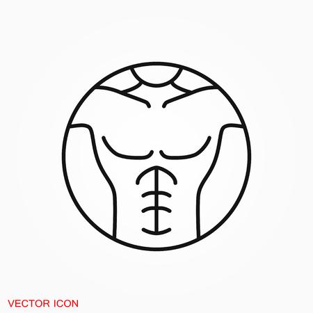 Weight loss icon vector sign symbol 矢量图像