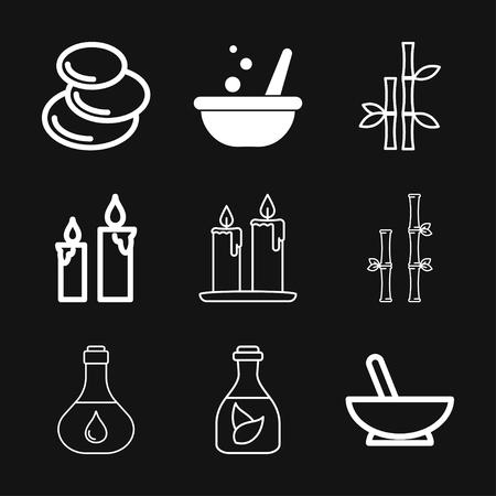 Zen icon vector sign symbol