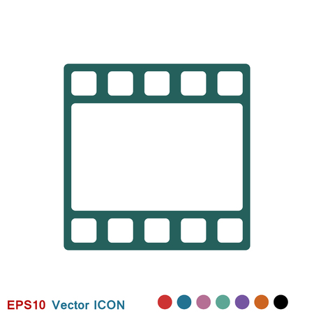 Frame icon vector, frame icon for web and app logo, illustration, vector sign symbol for design Çizim