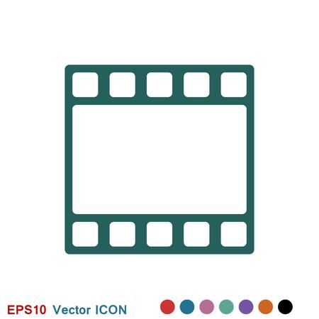 Frame icon vector, frame icon for web and app logo, illustration, vector sign symbol for design Stok Fotoğraf - 124359715