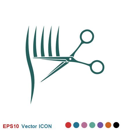 Barber icon vector sign symbol for design 일러스트