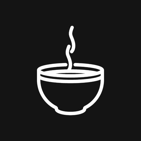 Food icon logo, illustration, vector sign symbol for design Illustration