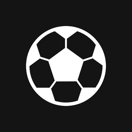 Soccer icon logo, illustration, vector sign symbol for design