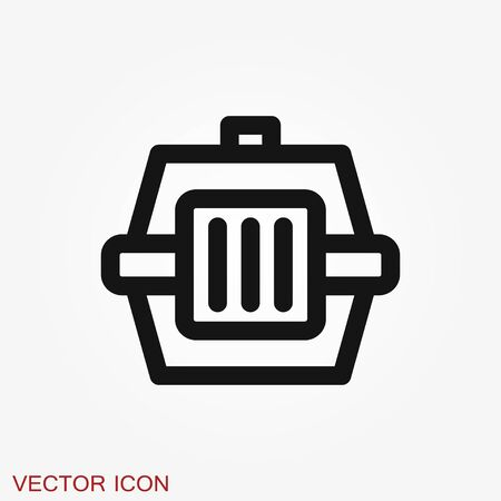 Bird cage icon for your design. Vector illustration. Editable Stroke. Stock fotó - 129391672