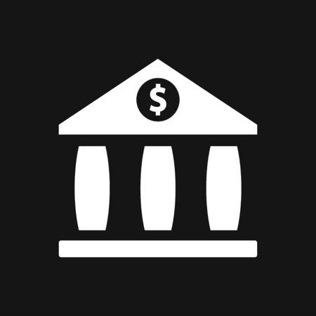 Bank icon design template.