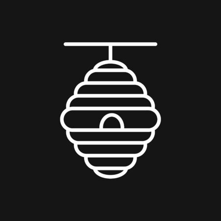 beehive vector icon. beehive sign on white background. beehive icon for web and app
