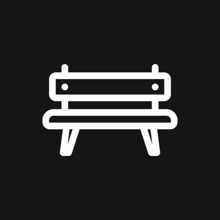 Workbench icon. Simple illustration of work bench vector icon  isolated on background