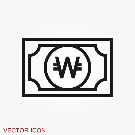 Money Currency Icon design template. Vector EPS 10
