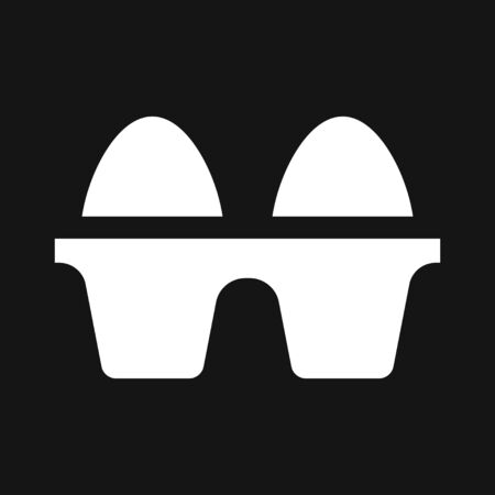 Egg vector icon, breakfast food symbol. Modern, simple flat vector illustration for web site or mobile app Фото со стока - 132208435