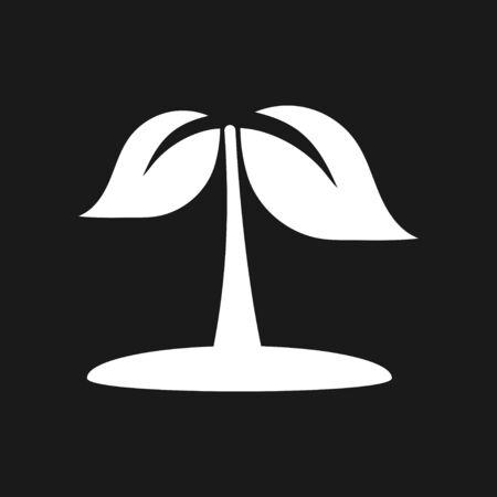 Garden icon isolated on background. Gardening symbol, vector illustration Reklamní fotografie - 138097706