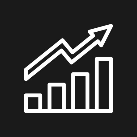 Growth icon, business infographic icons - Vector growth symbol Фото со стока - 137955245