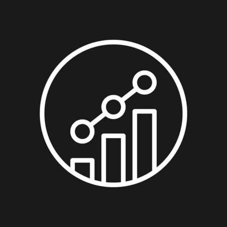 Growth icon, business infographic icons - Vector growth symbol Фото со стока - 137954580