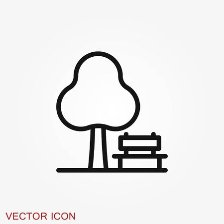 Rest icon vector, flat icons. Rest symbol Иллюстрация