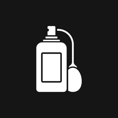 icon. Vector isolated silhouette, Cosmetics  Bottles Simple shapes were used.  イラスト・ベクター素材