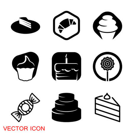 Confectionery icon, premium vector illustration of confectionery, food sign