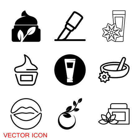 Cosmetics icon, Beauty and Fashion collection vector