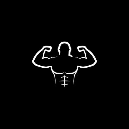 Body icon. Man Body Figure Size Icon Symbol Sign