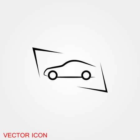 Auto icon. Car icon Vector Illustration, automobile motor 矢量图像