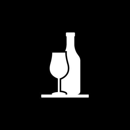 Bar icon. Icons Of Bar Drinks. Black bar drink icons. Fun and easy illustration for bar menus.